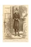 The Earl of Rackland Giclee Print by Frederick Barnard