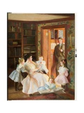 The Frederick Converse Family, 1901 Giclee Print by William McGregor Paxton