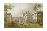 New College - Oxford Giclee Print by  English School
