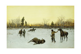 A Lucky Shot, 1903 Giclee Print by Henry Francois Farny