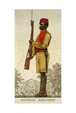 Lance-Corporal of the Nigeria Regiment. Royal West African Frontier Force, 1938 Giclee Print