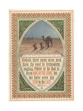 The Wise Men from the East Giclee Print by  English School