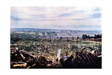 Hill 304 with Barbed Wire Near Verdun, September 1916 Giclee Print by Jules Gervais-Courtellemont
