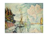 La Dogana, 1909 Giclee Print by Paul Signac