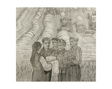 Bread and Salt for the Victors, 1973 Giclee Print by Masabikh Akhunov