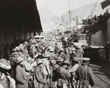 English Photographer - 1st Infantry Brigade, Home Again from Sw Africa Fotografická reprodukce