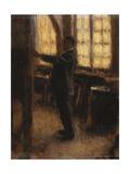 Auto-Portrait Chez l'Atelier, c.1910 Giclee Print by Roderic O'Conor