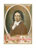 Camille Desmoulins Giclee Print by  Spanish School