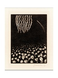 Fireworks (Scene from the April 1900 World's Fair in Paris), 1901 Giclee Print by Félix Vallotton