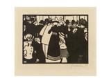 Exposition Universelle 1900, 1901 Giclee Print by Felix Edouard Vallotton