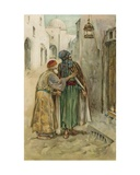 The Arabian Nights: Ali Baba Giclee Print by Walter Stanley Paget