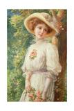 Mlle Printemps, 1910 Giclée-Druck von Emile Vernon