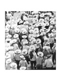 March of the Workers, Mexico City, 1926 Photographic Print by Tina Modotti