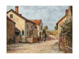 Coleridge's Cottage, Nether Stowey Giclee Print by Francis S. Walker