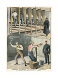 How Prisoners are Treated in England Giclee Print by  French School