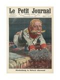 Albert Von Hindenburg Giclee Print by  French School