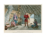 Gallic Family Home Giclee Print by  French School