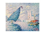 Marseille, Fishing Boats, 1907 Giclee Print by Paul Signac