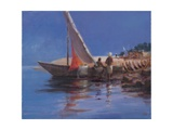 Boat Yard, Kilifi, 2012 Giclee Print by Lincoln Seligman