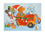 Adventskalender Bear, 2009 Giclee Print by Christian Kaempf