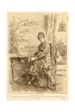 The Favourite Daughter Giclee Print by Frederick Barnard