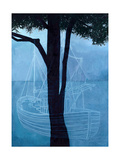 Ghost Ship One, 2012 Giclee Print by Graham Dean