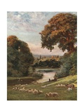 Prior Park, Bath Giclee Print by Francis S. Walker