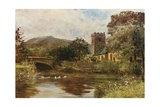 Grasmere Church Giclee Print by Francis S. Walker