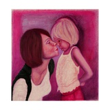 Mama's Kiss, 2012 Giclee Print by Stevie Taylor