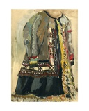 Sketch of Ethinc Russian Dress, 1964 Giclee Print by Nina Ivanovna Shirokova
