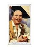 Douglas Fairbanks, Sr., 1935 Giclee Print