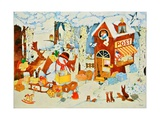Postoffice-Christmas, 2001 Giclee Print by Christian Kaempf