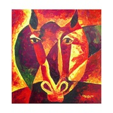 Equus Reborn, 2009 Giclee Print by Patricia Brintle