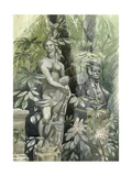 Diana and the Statesman, c.1960 Giclee Print by Osmund Caine