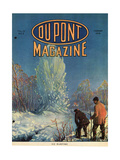 Ice Blasting, Front Cover of the 'Dupont Magazine', February 1919 Giclee Print by  American School