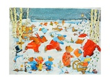 Bears on the Ice, 2009 Giclee Print by Christian Kaempf