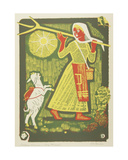 Brother Ivanushka and Sister Alyonushka, Illustration to a Russian Fairytale, 1969 Giclee Print by Evgenia Endrikson