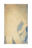 Young Nude Boy; Jeune Garcon Nu, 1914 Giclee Print by Amedeo Modigliani