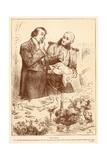 The Butler Giclee Print by Frederick Barnard