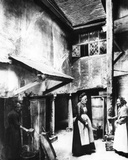 The Interior Courtyard of the Biggin, Hitchen, 1903 Photographic Print by Francis Frith