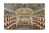 The Tower Ballroom - Pavilion. Postcard Sent in 1913 Giclee Print by  English Photographer