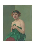 The Green Ribbon, 1911 Giclee Print by Félix Vallotton