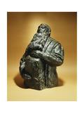 Rodin Looks Back; Rodin Penche En Arriere, 1909 Giclee Print by Emile-antoine Bourdelle