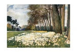 The Park, Sandringham Giclee Print by Mima Nixon