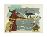 A Green Oak by the Seashore, 1963 Giclee Print by Evgenia Endrikson