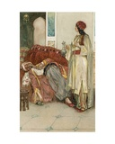 The Arabian Nights: The Story of Aladdin Giclee Print by Walter Stanley Paget