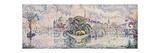 The Vert Galant Garden; Le Jardin Du Vert Galant, c.1928 Giclee Print by Paul Signac