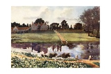 Barton Manor, Isle of Wight Giclee Print by Mima Nixon
