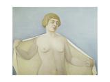 Out of the Bath; Sortie Du Bain, 1914 Giclee Print by Felix Edouard Vallotton