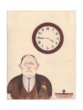 Bureaucrat, 1931 Giclee Print by Galina Konstantinovna Shubina